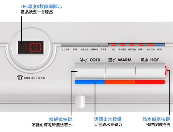 大山淨水賀眾牌UR-632AW-3
