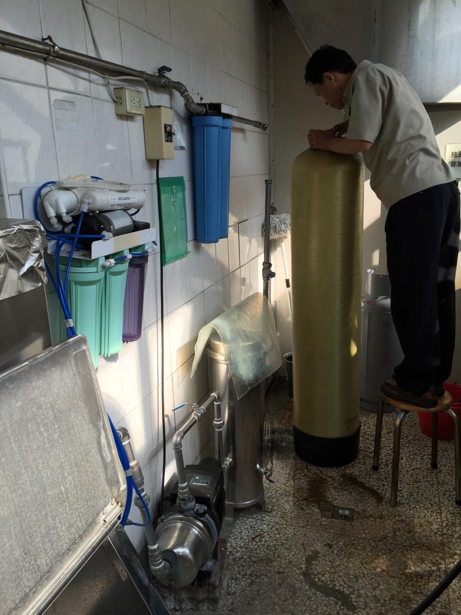 大山淨水曉明女子高級中學迦拿生飲系統