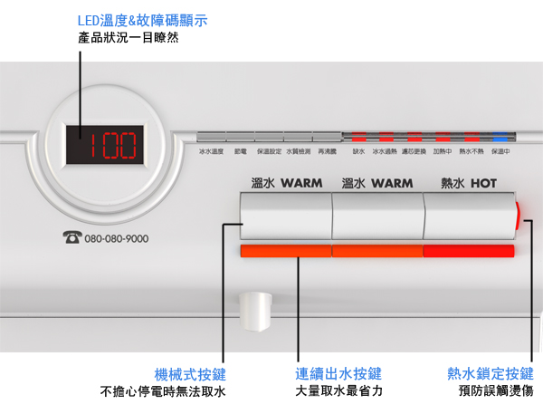 大山淨水賀眾牌UR-672BW-15