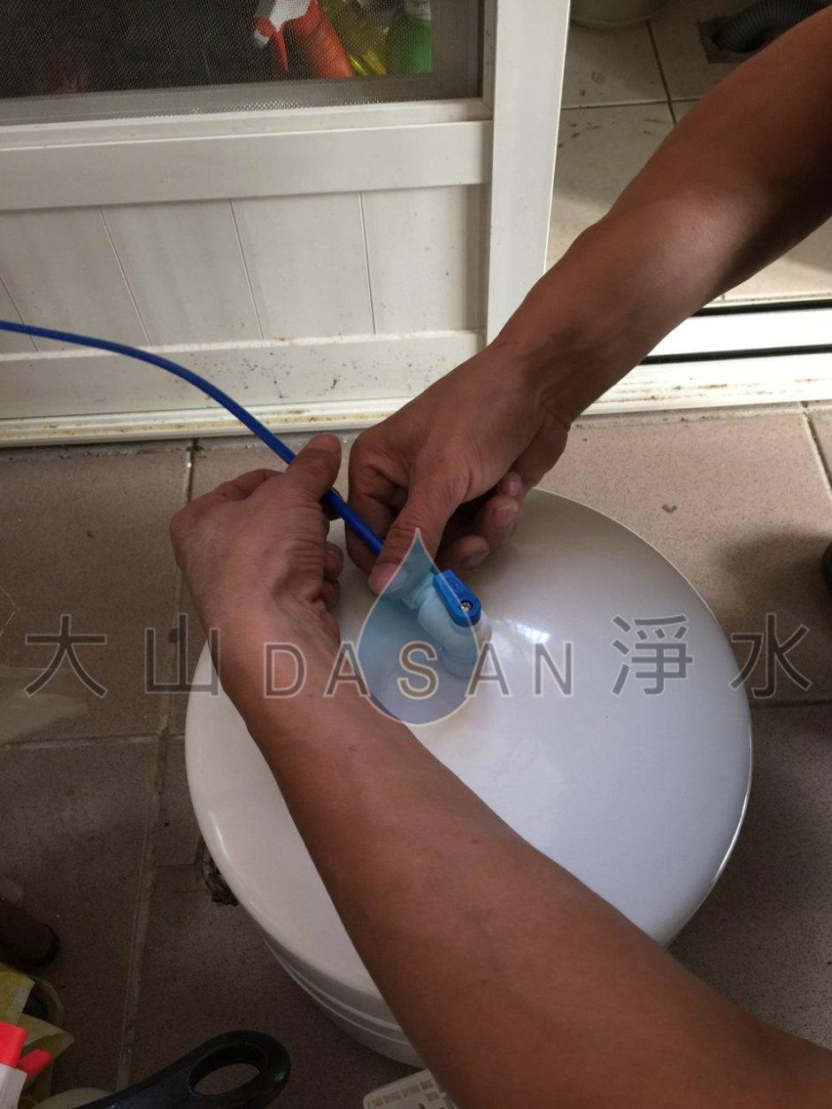 大山淨水賀眾牌2201+5501特殊安裝實例047