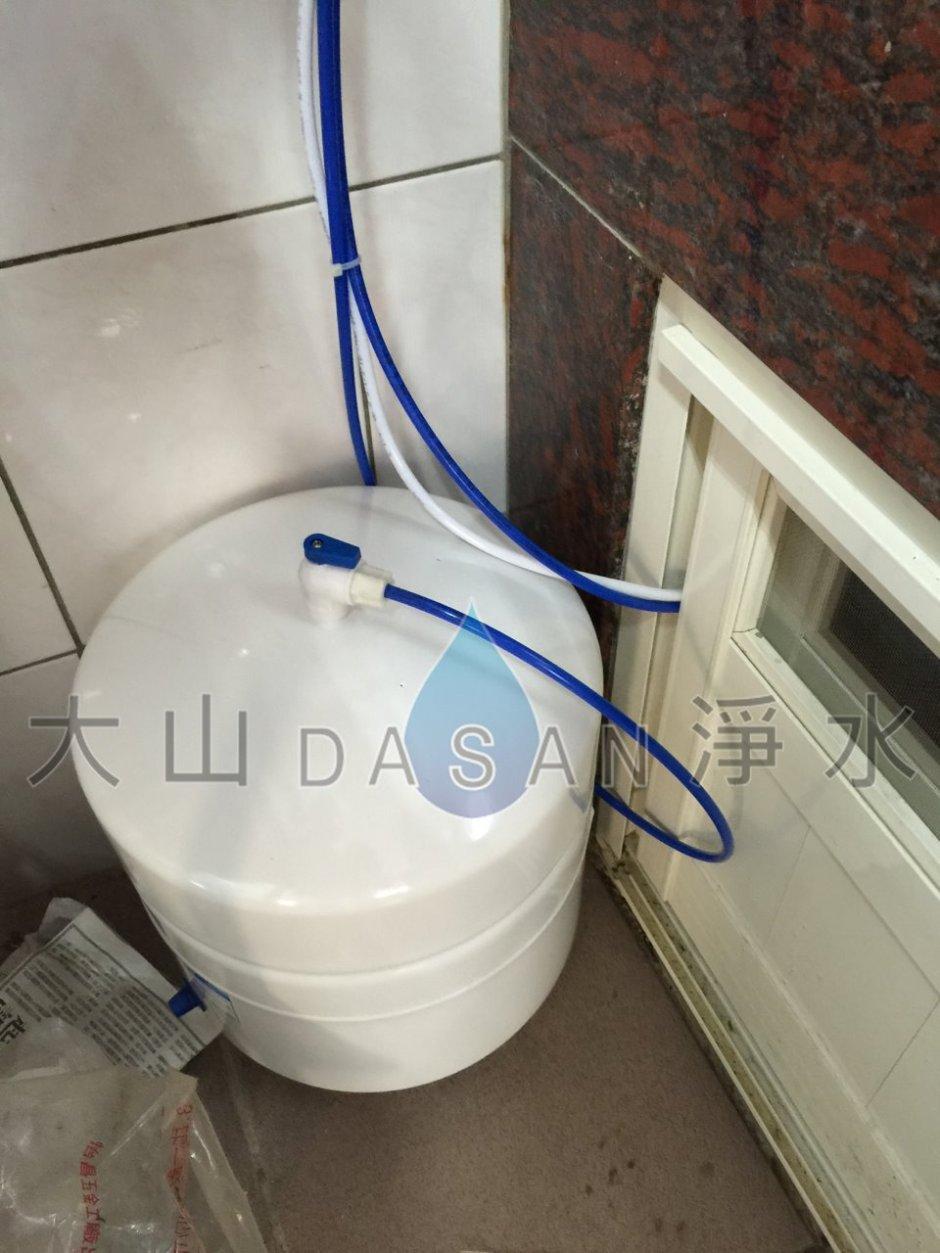大山淨水賀眾牌2201+5501特殊安裝實例086