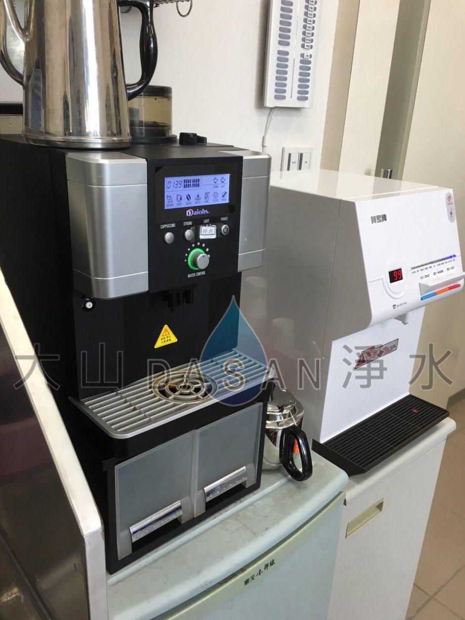 大山淨水賀眾牌UW-672AW-1智能型微電腦桌上型冰溫熱飲水機+賀眾牌三道淨水器 - 3