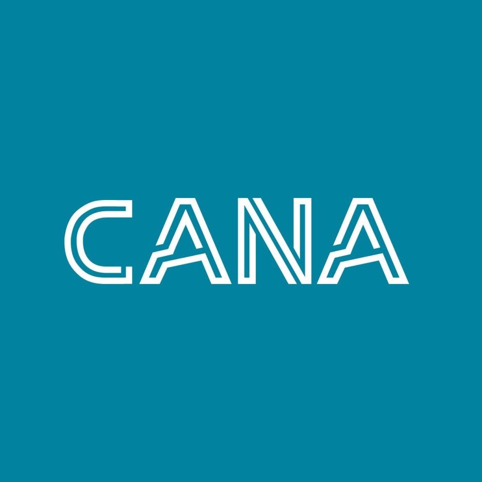 CANA藍綠底