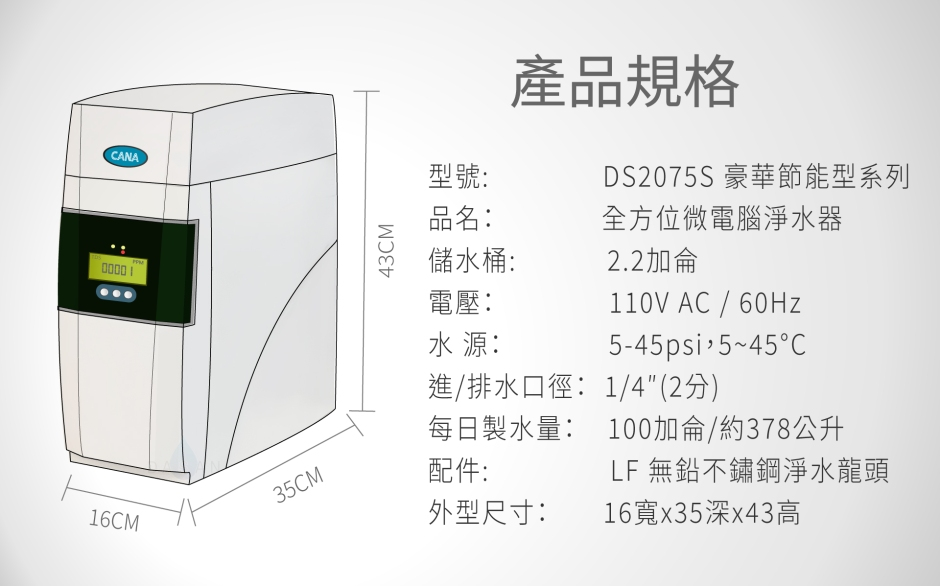 產品規格DS2075s